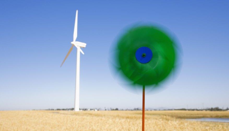 Al soplar las hojas de tu modelo, girarán como una verdadera turbina.