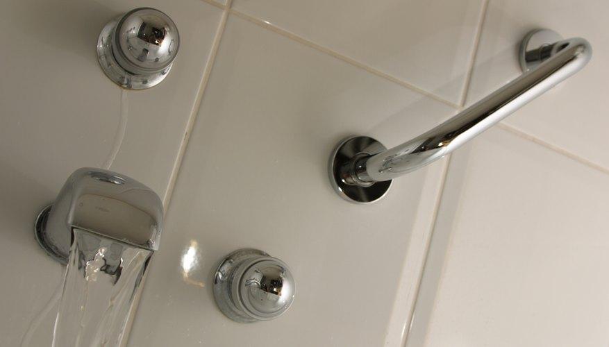 Railing in shower