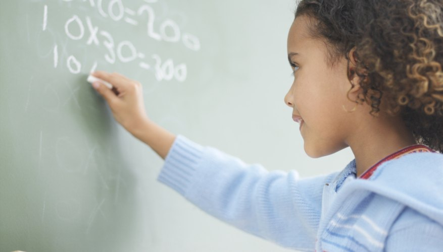 Repetition and quality study improve math skills.