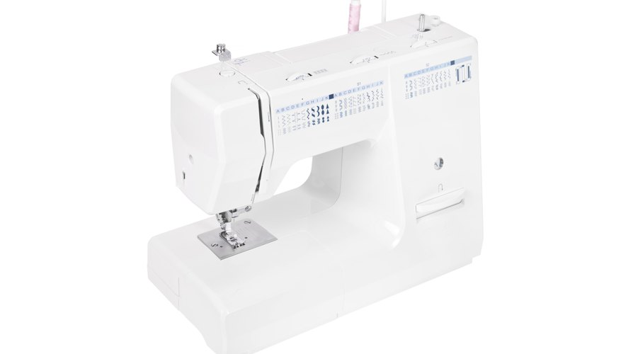 Clean and oil your sewing machine on a regular basis.