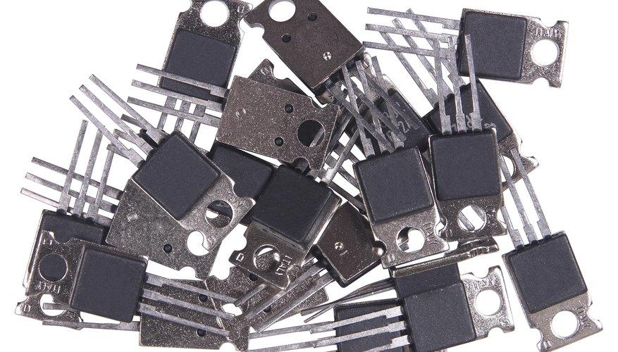 Transistors.