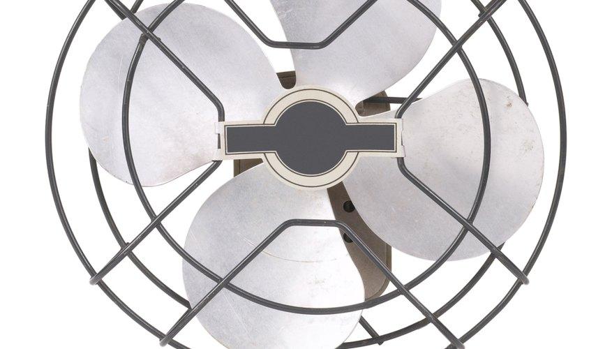 Antique Metal Fan