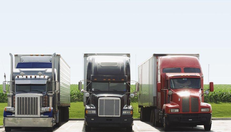 Los camiones de turbo-diésel se benefician considerablemente de los sistemas de inyección de agua-metanol.