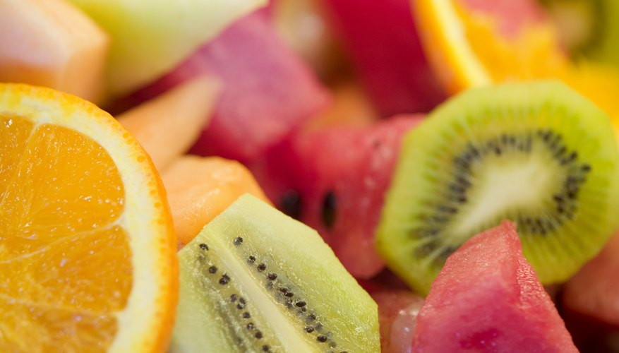 High fiber foods such as fruit may decrease your cholesterol.