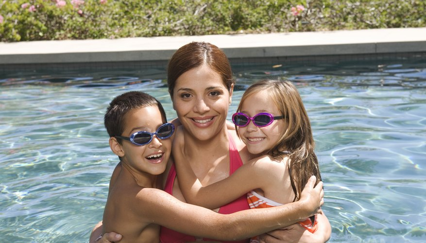 Swimming is just one of the many family activities you will find at Texas campgrounds.