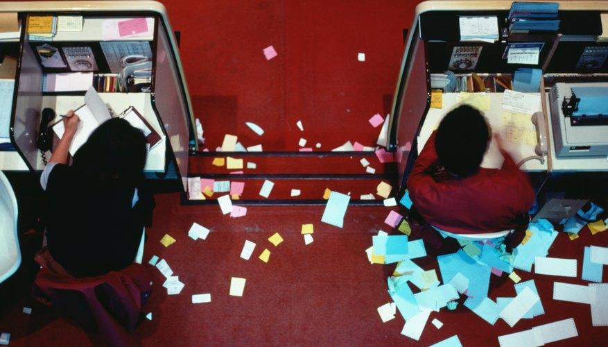Un área de trabajo desorganizada puede ser un verdadero desastre.
