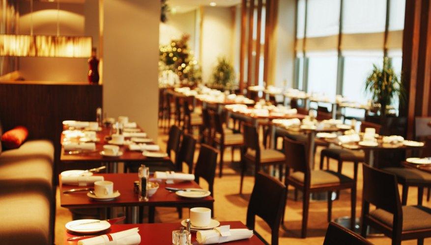 C mo iluminar un restaurante cuida tu dinero for Como crear un restaurante