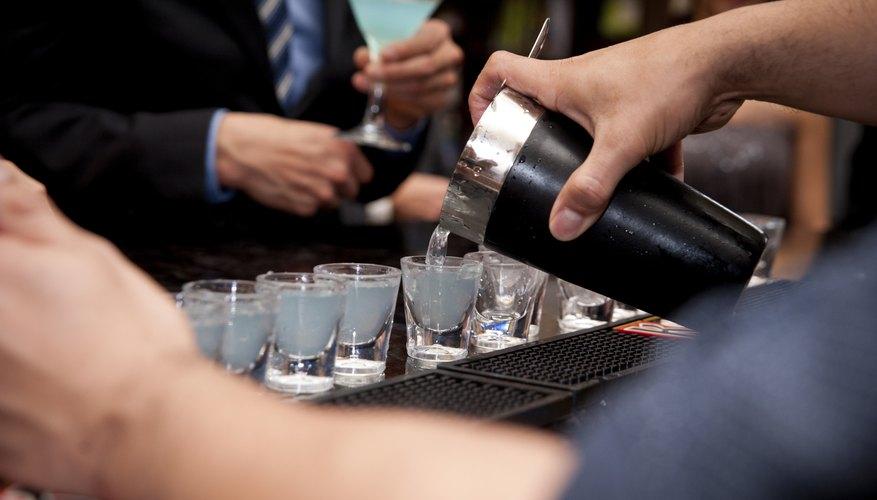 Bartender pouring Shots