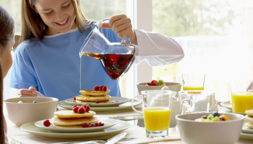 Allow extra time for a special breakfast.