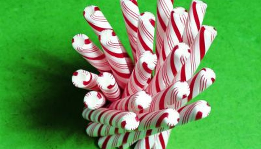 Peppermint sticks are classic Candy Land items.