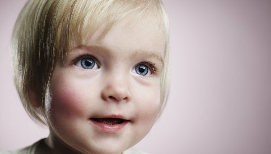 Like hair color, the color of your baby's eyes is mapped in her DNA.