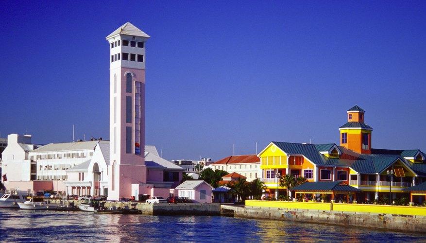 Puerto de New Providence, Nassau, Bahamas.
