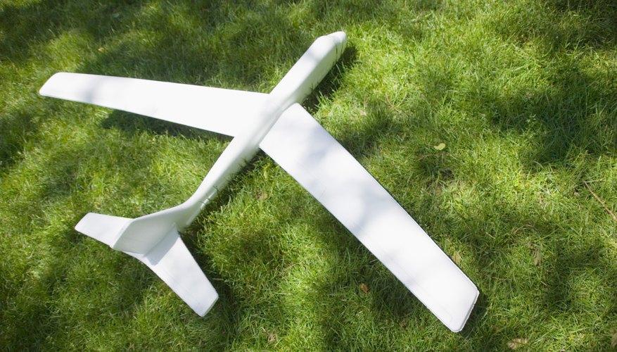 Un avión modelo puede usarse con un proyecto de ciencias comprobable.