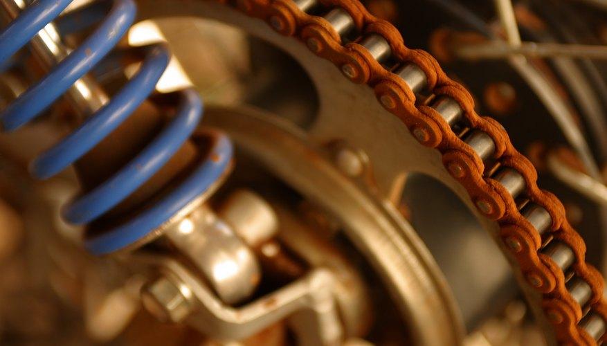 Cómo encontrar la talla de la cadena de tu motocicleta.
