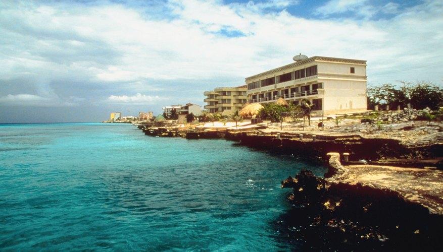 Hotel en las playas mexicanas.