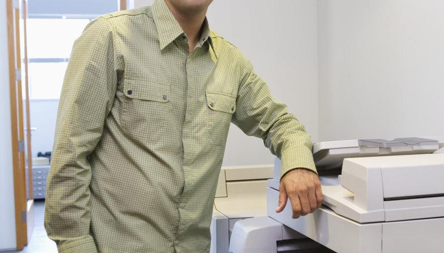 Las fotocopiadoras pueden ser voluminosas, pero son una herramienta de trabajo excelente.