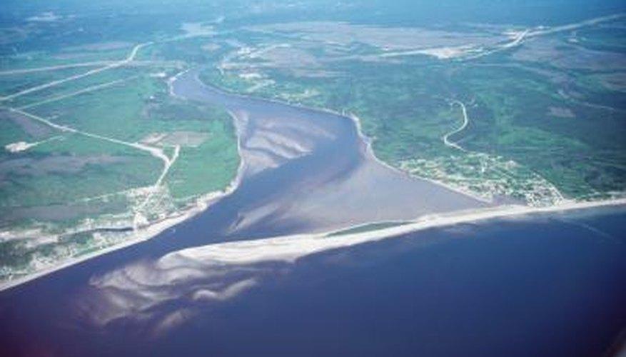 A river delta