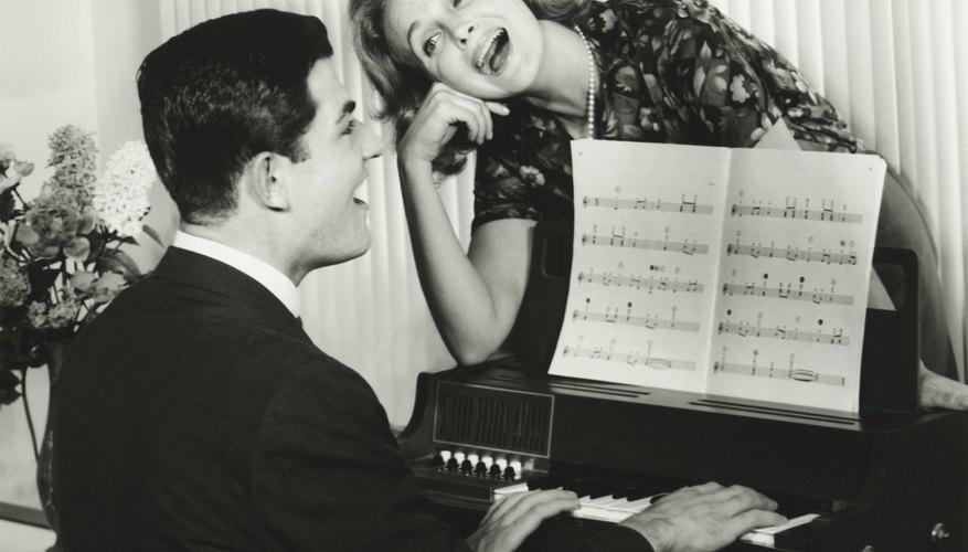 La música de la década de 1940.
