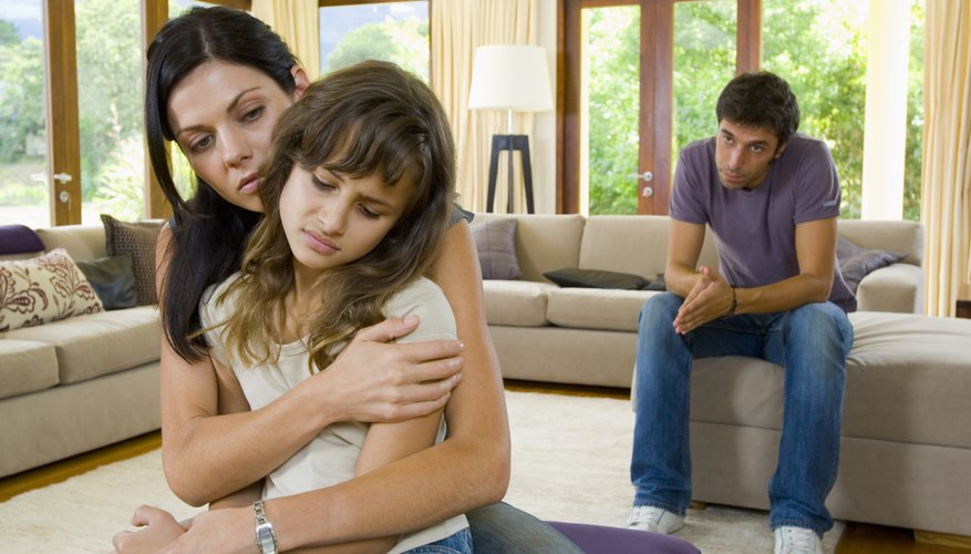 A child with abandonment issues might struggle to believe that she deserves love.