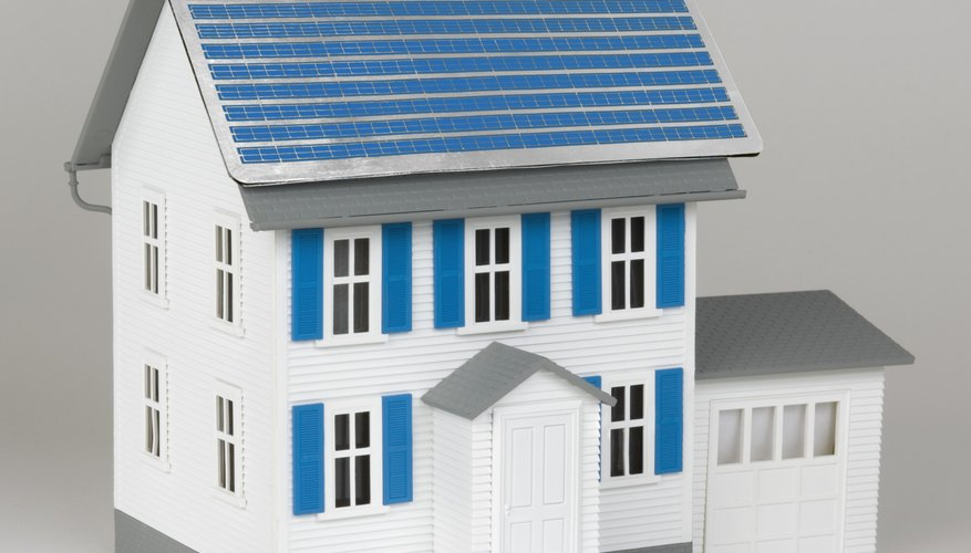 Amazing Use Hobbyist Solar Cells, LEDs And A Scale Model House To Make A Solar  Electric