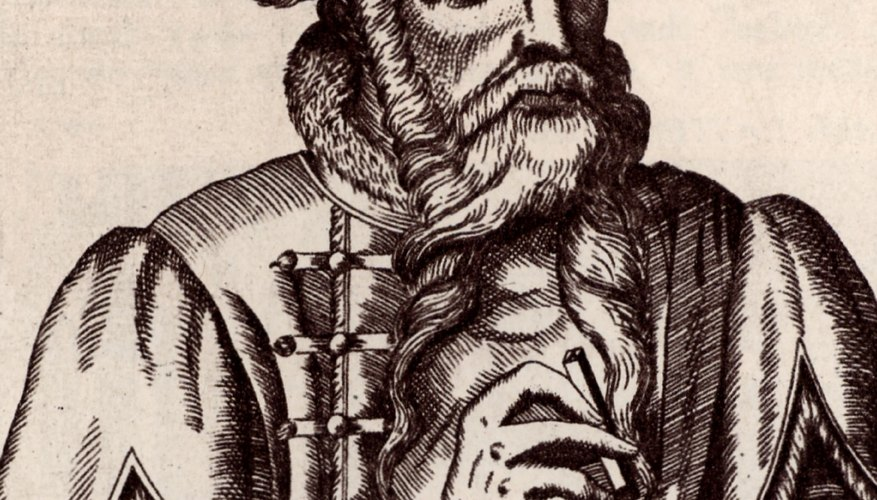 Johannes Gutenberg invented the first movable type printing press.