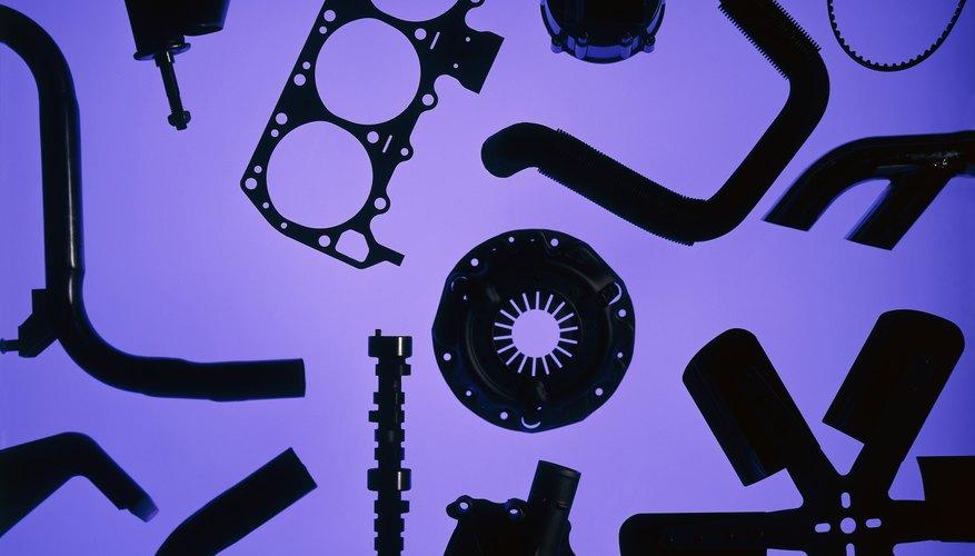 Texture of auto parts