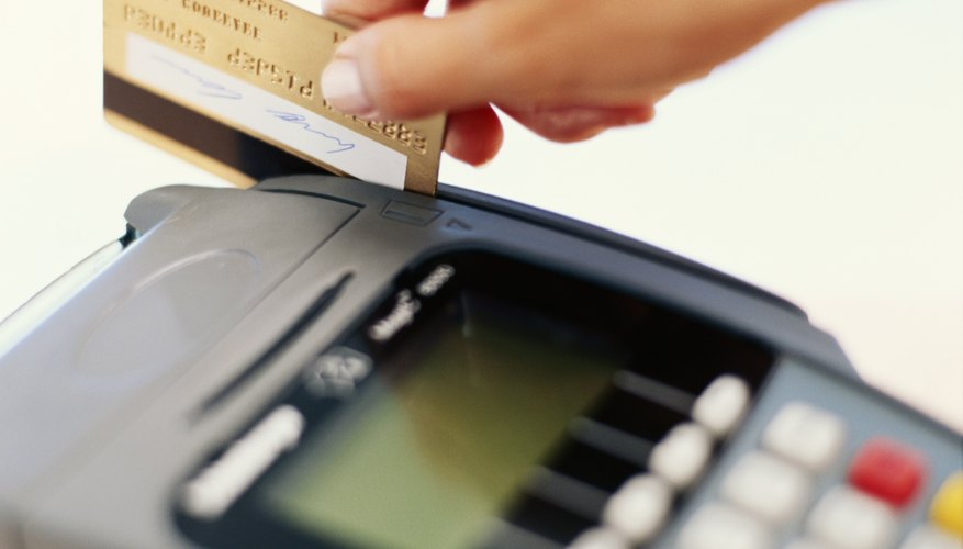 Try scanning your credit card again if it doesn't work the first time.