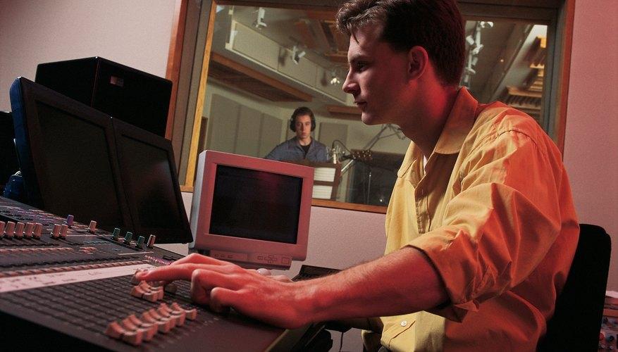 La esponja acústica se usa primordialmente en los estudios de grabación.