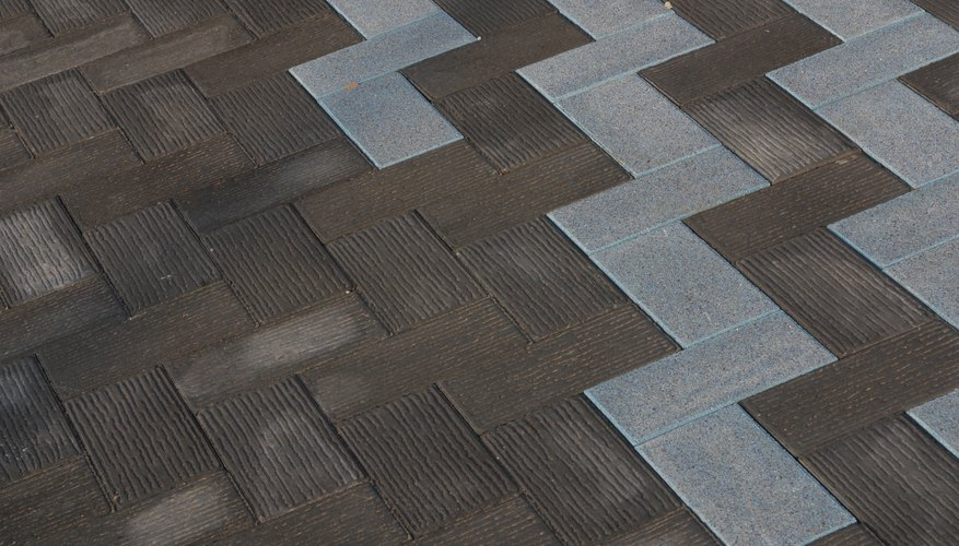 Brick designs often follow a pattern of a rotation tessellation