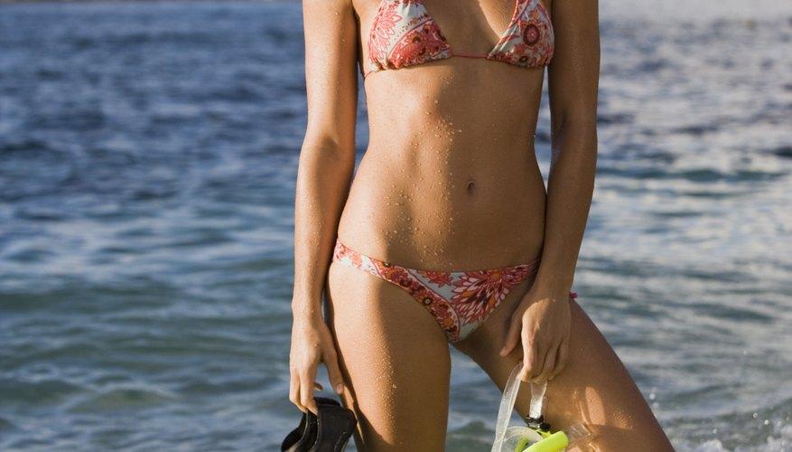 Bucear con snorkel de manera exitosa requiere práctica.