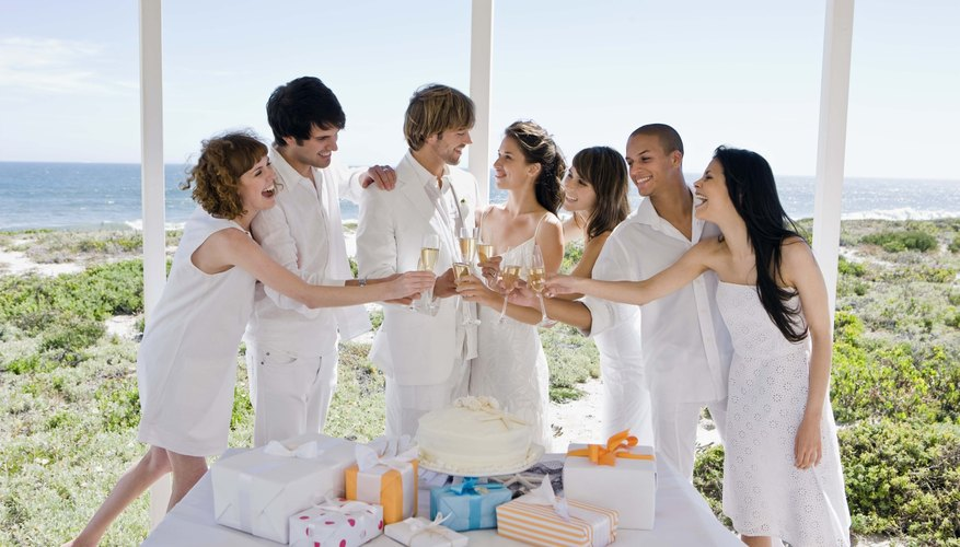 A man may feel under pressure to settle down if his friends are already hitched.