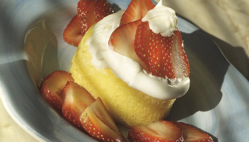 Strawberry shortcake is a favorite summertime treat.