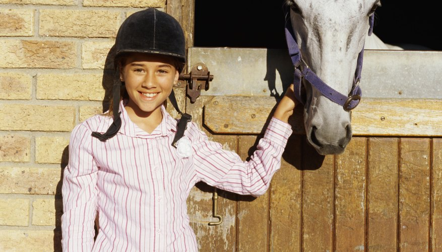 A child who loves horses might enjoy crafting horse projects.