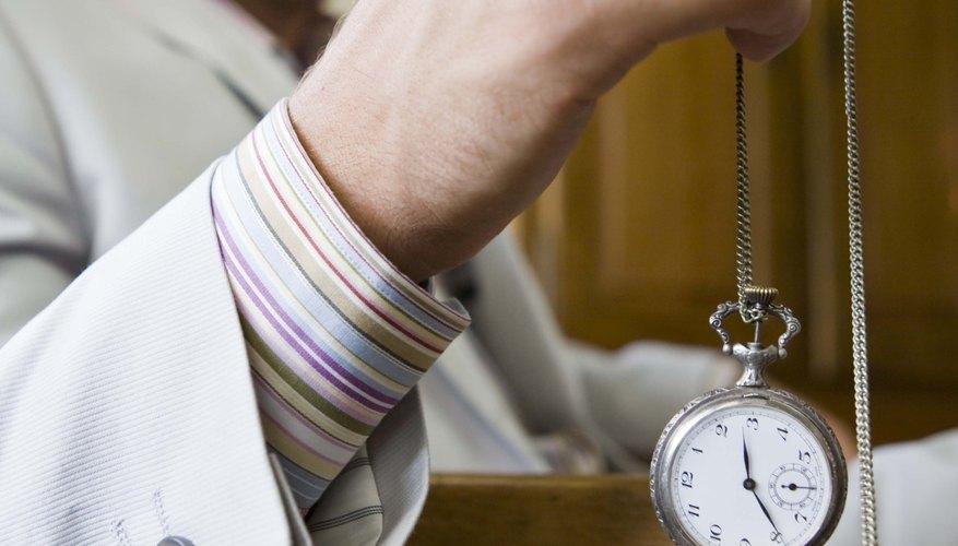 Los relojes de bolsillo no son comunes hoy en día.