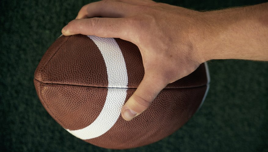 Use leather conditioner to restore your pigskin.