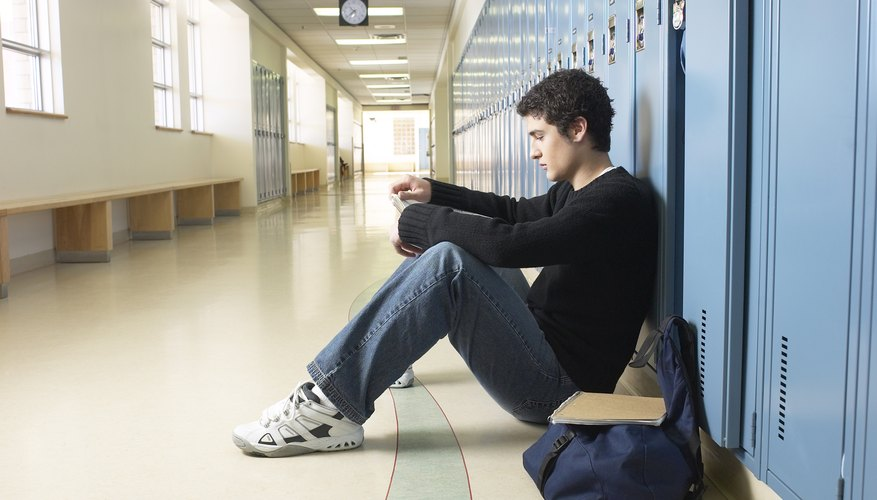 Some teens exclude themselves while others are excluded by their peers.