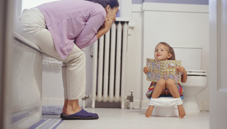 Help your toddler achieve toilet training success with lots of love and patience.