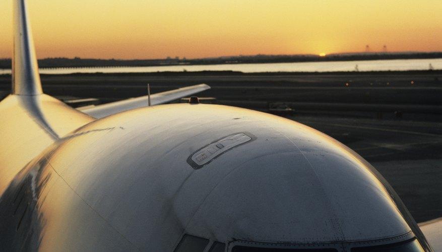 Un avión 747.