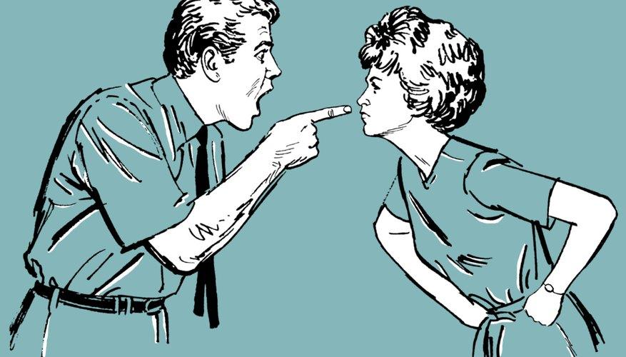 Las discusiones entre las parejas casadas pueden afectar negativamente a sus hijos.