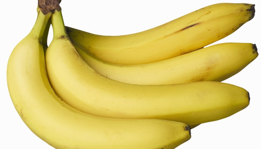Bananas are quick, nutritious, no-fuss snacks.