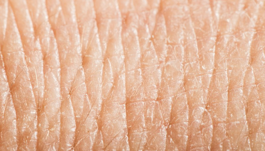A close-up of human skin.