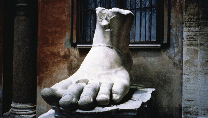 Puedes hacer un modelo de pie humano fácilmente.