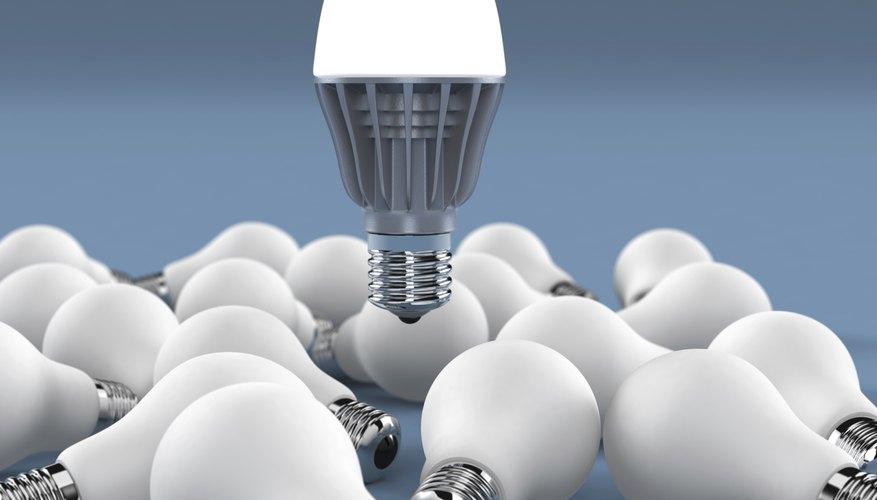 LED bulbs last much longer then older bulbs