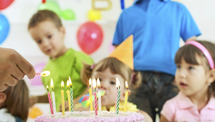 Celebrate your child's birthday with a barbeque.