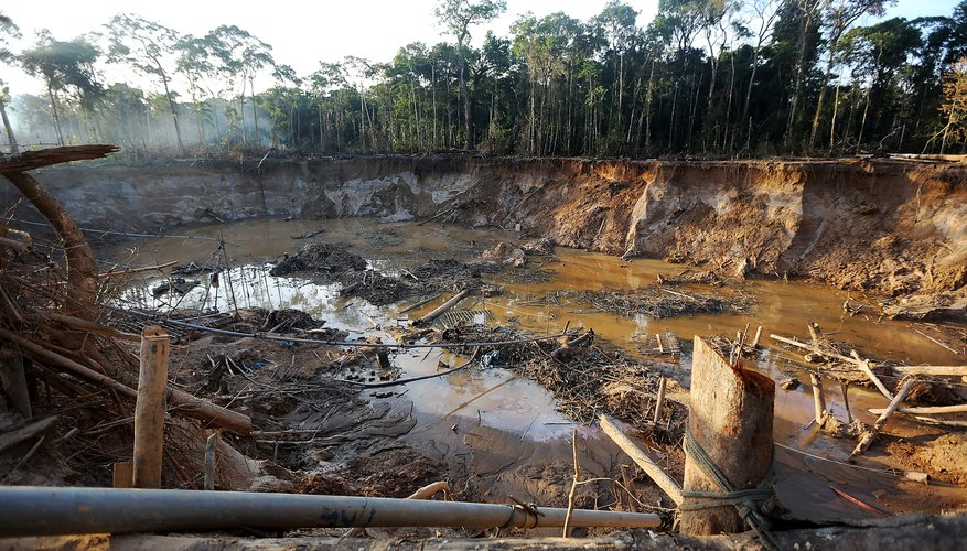 Peruvian Gold Mining Rush Brings Social And Environmental Stresses To Amazon