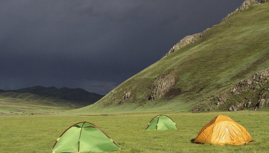 Pop-Up Tent Camper & Lightning Safety
