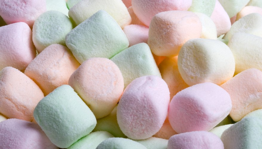 Mini marshmallows.