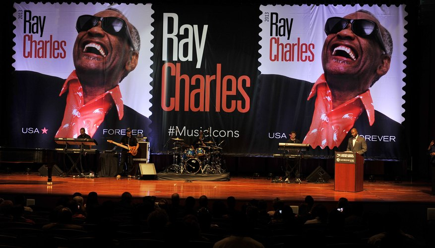 In 2013, the U.S. Postal Service issued a stamp honoring Ray Charles