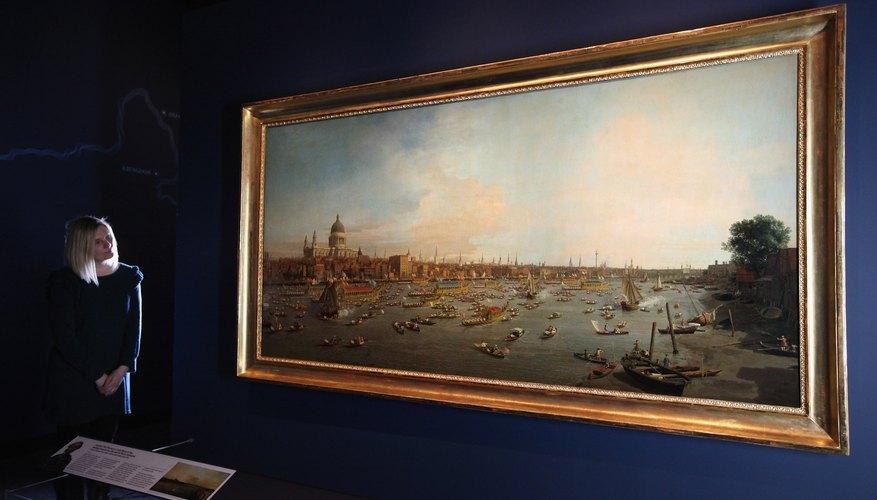 Imagen de uno de los cuadros de la colección