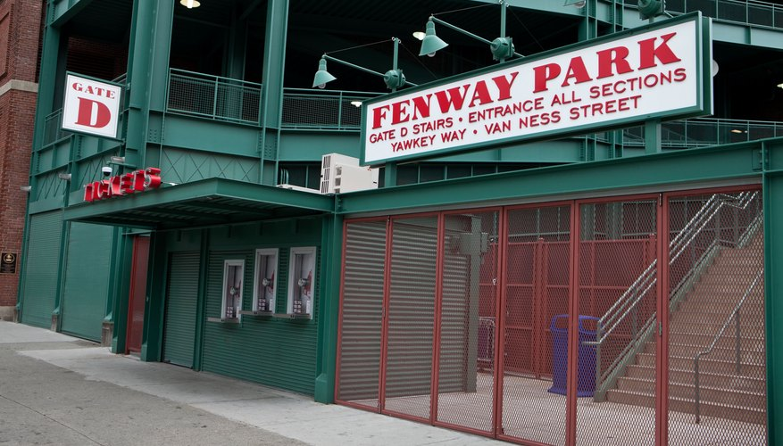 Built in 1912, Boston's Fenway Park is the oldest ballpark in major league baseball.